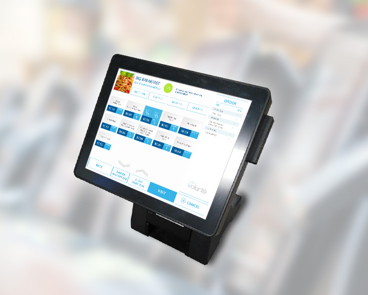 Volanté POS Solutions for Quick Service / Table Service